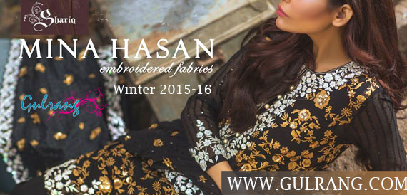 Mina Hasan Embroidered Winter 2015-16 By Shariq