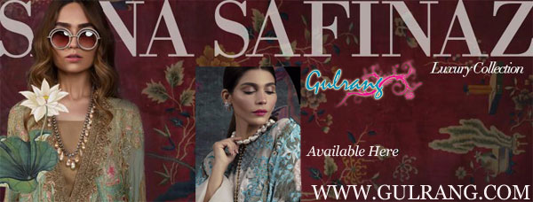 Sana Safinaz Luxury Collection 2017