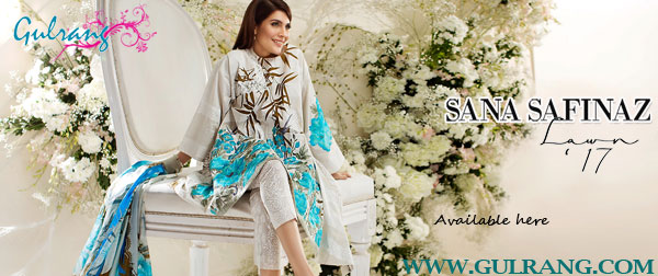 Sana Safinaz Summer Lawn Collection 2017
