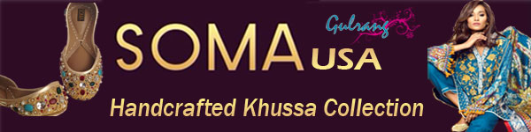 SOMA  Handcrafted Khussa (Leather Shoes)